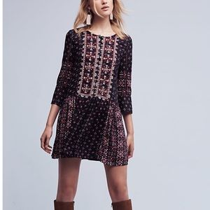 ANTHROPOLOGIE Vanessa Virginia Kaleidoscope dress
